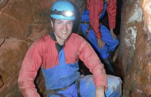Mine explorers enjoying Cornwall Underground Adventures' Underground Explorer tour.