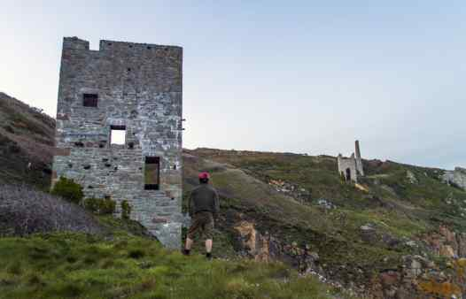 Wheal trewavas, mine heritage tours. Original Poldark series film set. Learn about Cornish Mining with experts.